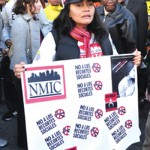 Hundreds join 11-mile march along Broadway to Occupy Wall Street | Manhattan Times