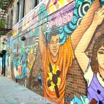 Behind the Design: Weaving Change Beyond the Shadows Mural