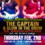 The Captain & Glow In The Drum @ NegroClaro Tomorrow