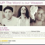 Speak Up: The Word is our Weapon @ El Museo Tomorrow Night
