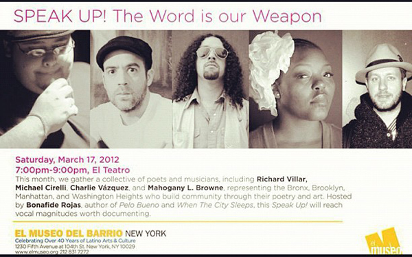 Speak Up @ El Museo in El Barrio Harlem, USA