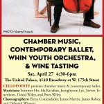 Uptown Arts: Chamber Music, Ballet & The WHIN Youth Orchestra @ The United Palace