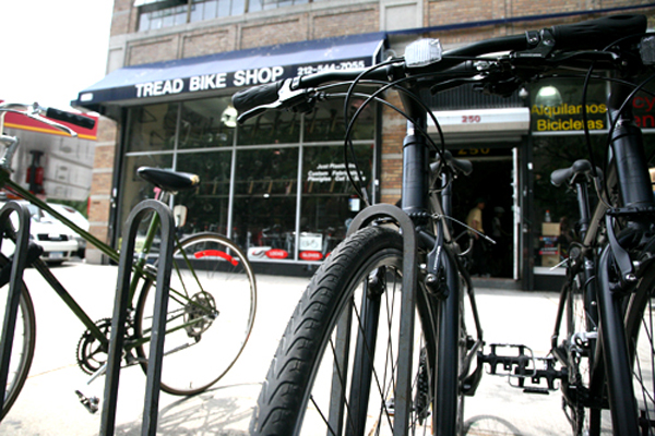 Tread Bike Shop Dyckman Street Washington Heights