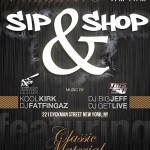Sip & Shop @ Dyckman Bar Tomorrow Night ft Classic Material