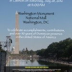 Historic Gathering of Dominicans to take place this weekend at the National Mall in D.C.