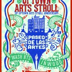 3/16/15: Select the official 2015 Uptown Arts Stroll Poster @ 809 Restaurant