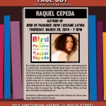 Uptown Tonight: Face Out - Bird of Paradise by Raquel Cepeda @ Word Up Books