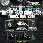 8/28/14: Hit Em Hard Showcase Ft. Joell Ortiz @ Arka Lounge