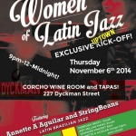 11/06/14: The Women of Latin Jazz @ Corcho Wine Room