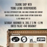 11/14/15: 2nd Annual Quisqueya Heights Symposium - Like A Boss: Talking Shop With Young Latino Entrepreneurs