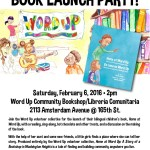 2/6/16: Home At Word Up - Launch Party